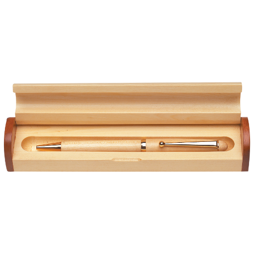 Wooden Pen & Pencil Case